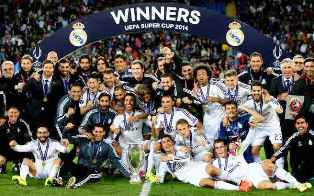 Real Madrid Juara Super Eropa 2014