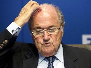 Presiden FIFA Sepp Blatter