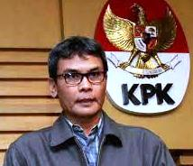 Deputi Pencegahan KPK, Johan Budi