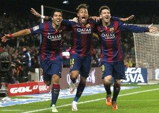 Trio Striker Mematikan Barcelona
