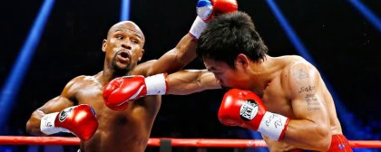 Mayweather VS Many Paquino