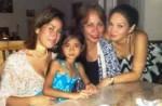 Anegline (kecil) bersama Ibu dan Saudara Angkat keluarga Megawe