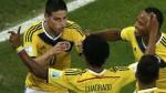 James Rodriguez dkk. Kolombia