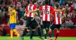 Pemain Bilbao Rayakan Kemenangan