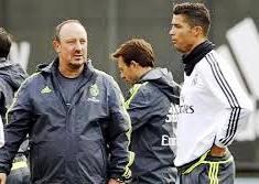 Rafael Benitez dan Ronaldo