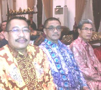 Sujani dan Peserta dari Maluku dan NTB