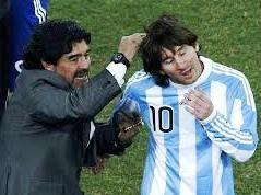 Maradona dan Messi