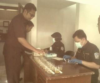 Jelang Paripurna, Anggota DPRD Banyuwangi Tes Urine