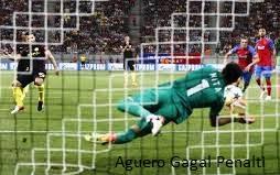 Sergio Aguero Gagal Eksekusi Penalti