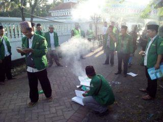 Konferensi Panas dan Diwarnai WO. Sukron Kembali Terpilih Pimpin GP Ansor Banyuwangi