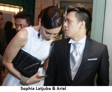 Ariel dan Sophia Latjuba