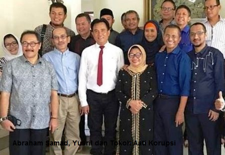 Abraham Samad, Yusril dan Tokoh Anti Korupsi Hadir Dalam Sidang Dahlan Iskan