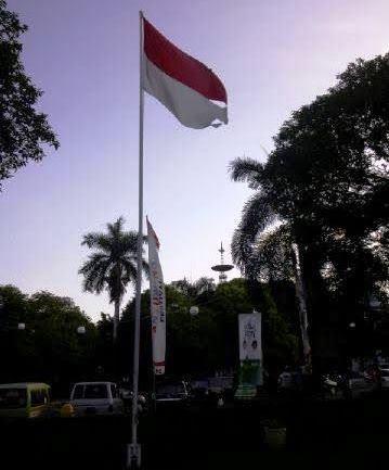 Bendera Merah Putih Dipendopo Shaba Swagata Blambangan Sobek