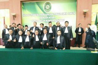 Pengadilan Tinggi Sumpah 168 Advokad Baru