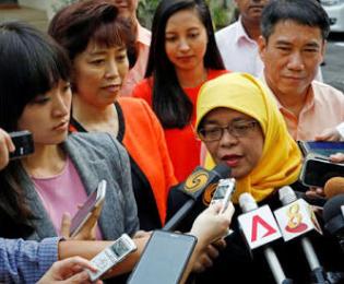 Presiden 'Wanita' Singapura Pilih Tinggal Dirusun
