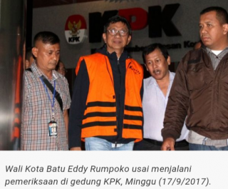 Dana Suap Untuk Lunasi Mobil Alphard, Walikota Batu Ditahan KPK