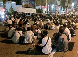 Kasus Palu Arit Jadi Bola Konflik, Mahasiswa Demo Tolak Tambang Tumpang Pitu