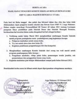 SMPN Kalipuro Tarik Dana Siswa, Pejabat Diknas Siap Bebaskan