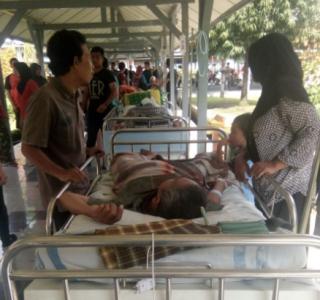 Baru Renovasi Ruangan RSAL dr Ramelan Ambruk, Empat Korban Dievakuasi