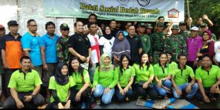 KPS Bersama Mirah Hotel Bantu Bedah Rumah Korban Banjir