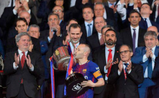 Rebut Tropy Copa del Rey, Barca Termotivasi Gelar La Liga
