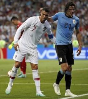 Dikalahkan Uruguay, Portugal Terhenti Di Babak 16 Besar, Piala Dunia 2018 Kehilangan Dua Magnet Sepakbola