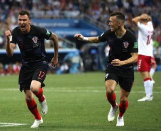 Menang Drama Adu Penalti Atas Denmark, Kroasia Ditunggu Rusia Diperempat final Piala Dunia 2018