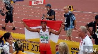 Catatkan Sejarah Meraih Gelar Juara Dunia, Menpora Siapkan Bonus Lalu Muhammad Zohri