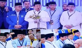 Didukung 4 Partai dan Anak Soekarno Dan Soeharto, Prabowo Merasa Diberi Kehormatan Maju Sebagai Presiden