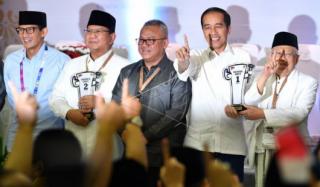 No 01 Capres Jokowi-Ma'ruf, Dimaknai Indonesia Bersatu