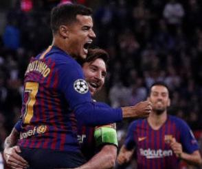 Liga Champions, Messi Cetak Dua Gol, Barca Kalahkan Spurs