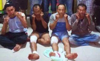 Empat Komplotan Ditangkap, Dua Begal Ditembak
