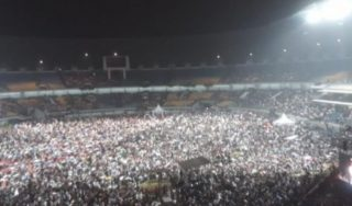 Stadion Penuh Tausiyah Ustad Abdul Somad Dibanjiri Jama'ah
