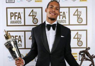 Singkirkan Sterling Raih Pemain Terbaik Premier League, Van Dijk Fokus Bantu Liverpool Raih Gelar