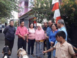 Wujudkan Toleransi, Umat Katolik Jakarta Serahkan 241 Hewan Kurban