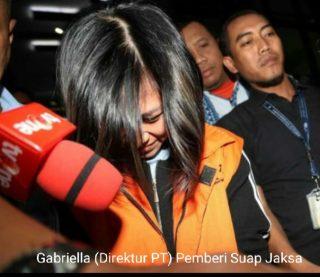 Wanita Penyuap Jaksa Ditahan