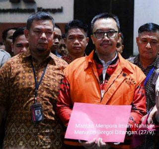 Diborgol KPK, Mantan Menpora Ditahan Korupsi Dana KONI