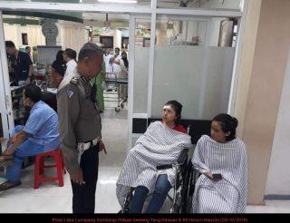 Malam Kecelakaan Di Lumajang, Rombongan Study Tour SMAN 2 Genteng Selamat