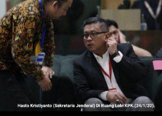 Sekjen PDI-P Hasto Kristiyanto Datangi KPK