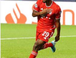 Gol Tunggal Coman Benamkan Mantan Klubnya PSG dan Bawa Munchen Raih Tropy Liga Champions