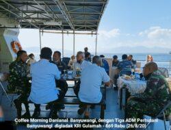Danlanal dan Tiga ADM Perhutani Banyuwangi Gali Potensi Diwilayah Maritim