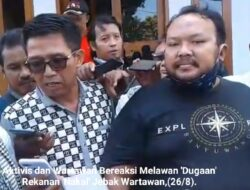 Di Bantu LSM GMBI, Rekanan 'Nakal' Gagal Kriminalisasi Wartawan