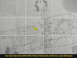 Laporan RunwayLapter Blimbingsari Diatas Tanah SHM Warga Mulai Direspon KPK
