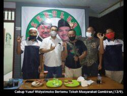 Cabup Yusuf Widyatmoko Terima Tongkat Kayu Sono Keling dan Serap Aspirasi Warga Gambiran