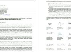Perlawanan Pengesahan UU Cipta Kerja Meluas, 11 Serikat Buruh International Juga Kirim Surat Kepada Jokowi
