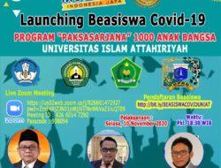 Universitas Islam Tertua DKI (UNIAT) Berikan Beasiswa Calon Mahasiswa Terdampak Covid-19