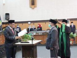 Ketua Dewan Lantik PAW Eko Hariyono Gantikan Cawabup Sugirah