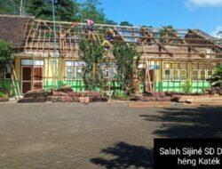 Sekolahan SD Wés Dibongkar, Tapi Salah Alamat