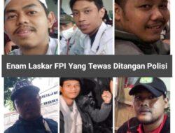 Tiga Polisi Jadi Tersangka Dugaan Tewasnya Enam Laskar FPI