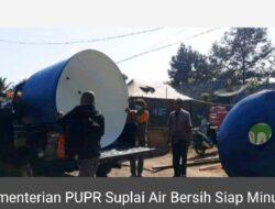 Gempa Jatim, Kementerian PUPR Suplai Air Bersih Siap Minum